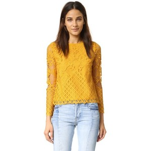 englishfactory-yellow-lace